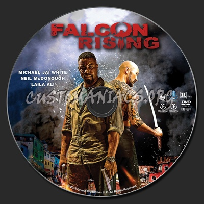 Falcon Rising (aka Favela) dvd label