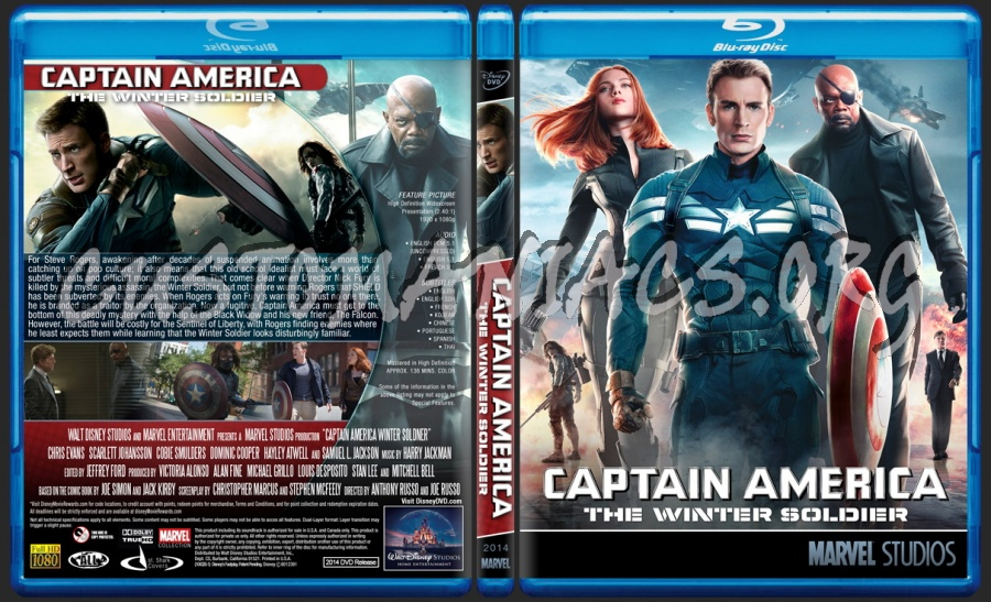 Captain America: The Winter Soldier - Marvel Collection blu