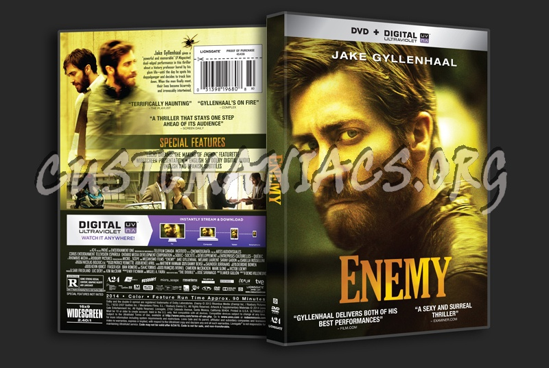 Enemy dvd cover - DVD Covers & Labels by Customaniacs, id ...