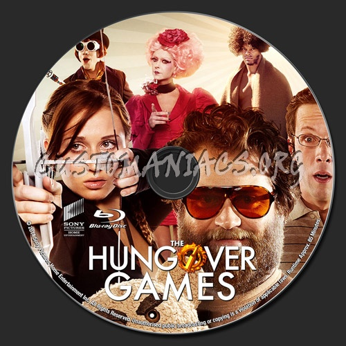 The Hungover Games blu-ray label