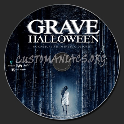 Grave Halloween blu-ray label - DVD Covers & Labels by ...