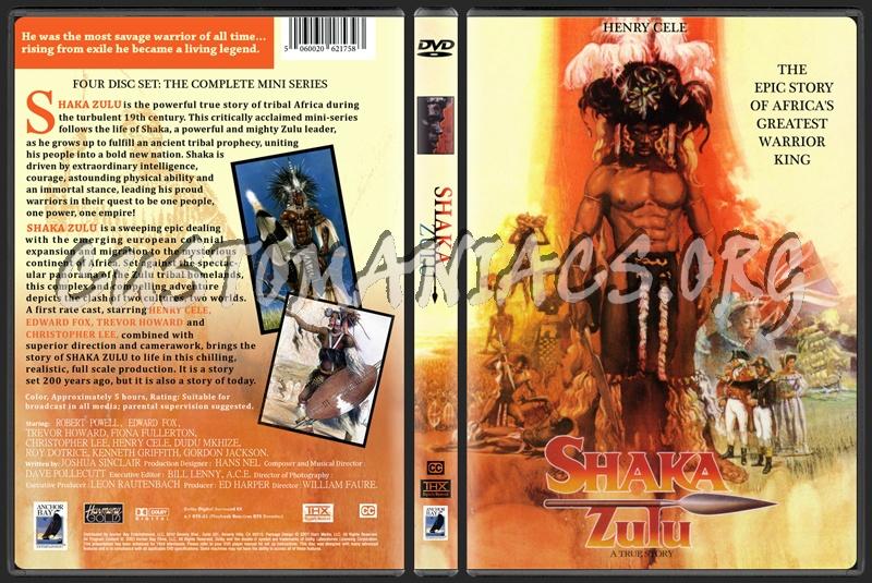 Shaka Zulu Mini Series Shaka Zulu dvd cover -...