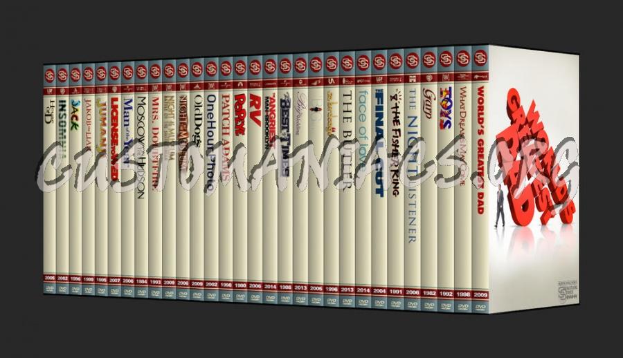 The Signature Series - Robin Williams dvd cover
