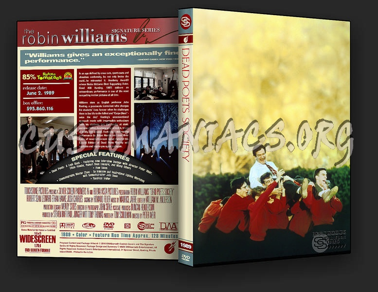 Dead poets society blu-ray cover dvd covers & labels by.