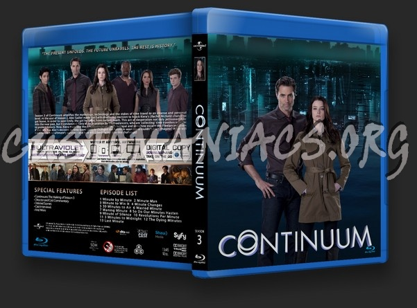 Continuum Season 3 blu-ray cover