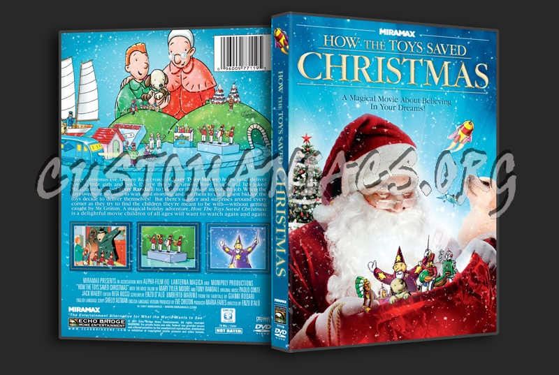 How the Toys Saved Christmas dvd cover