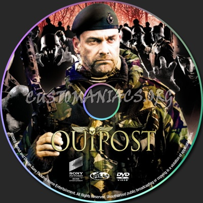 Outpost dvd label