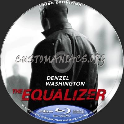 The Equalizer blu-ray label
