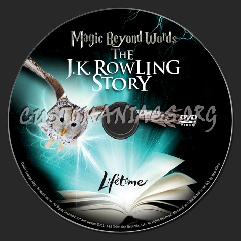Magic Beyond Words The JK Rowling Story dvd label
