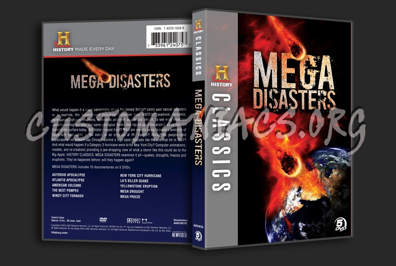 Mega Disasters dvd cover - DVD Covers & Labels by Customaniacs, id