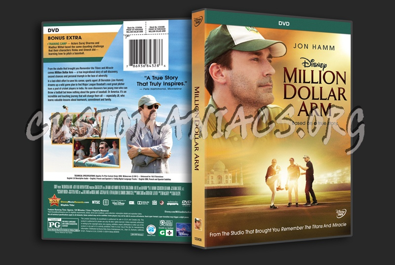 Million Dollar Arm dvd cover