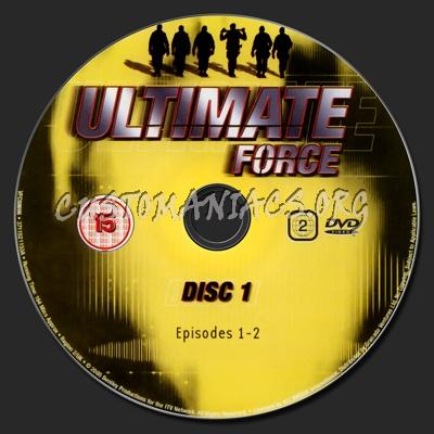 Ultimate Force Season 4 dvd label