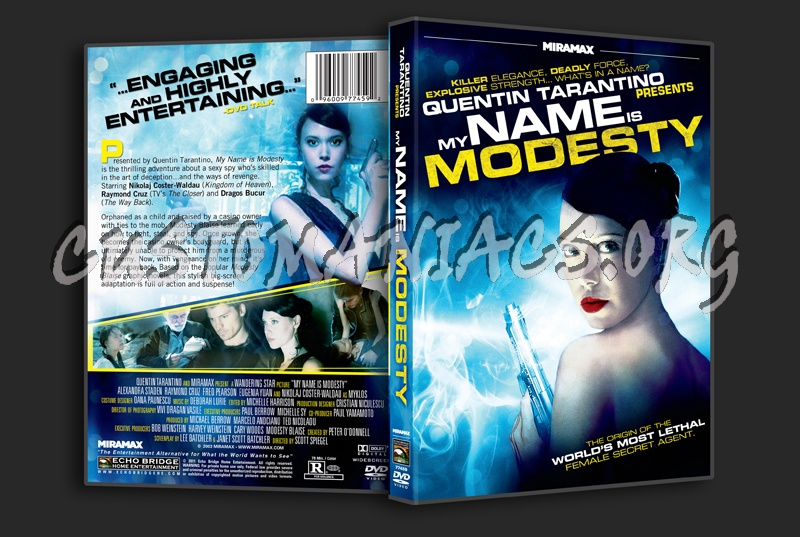 My Name Is Modesty dvd cover