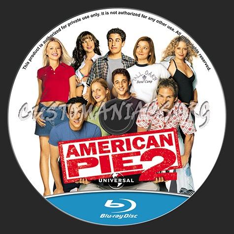 American Pie 2 blu-ray label