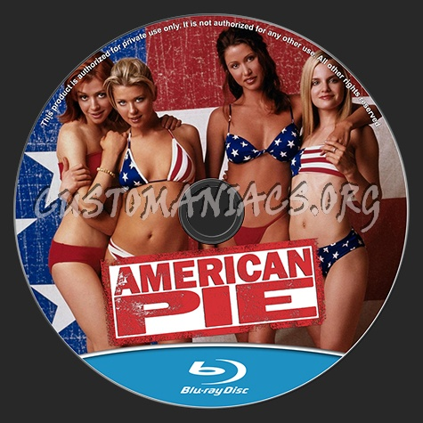 American Pie blu-ray label