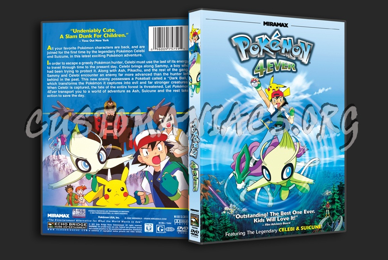 Pokemon 4Ever dvd cover