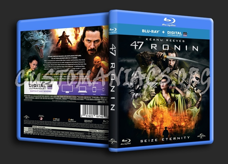 47 Ronin blu-ray cover