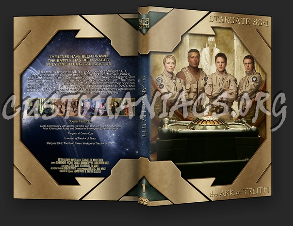 Stargate : The Ark of Truth dvd cover