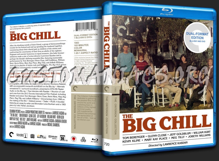720 - The Big Chill blu-ray cover