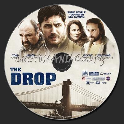 The Drop (2014) dvd label