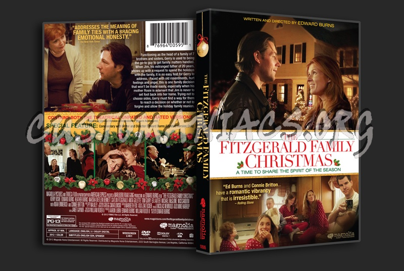 the fitzgerald family christmas dvd cover - Fitzgerald Christmas