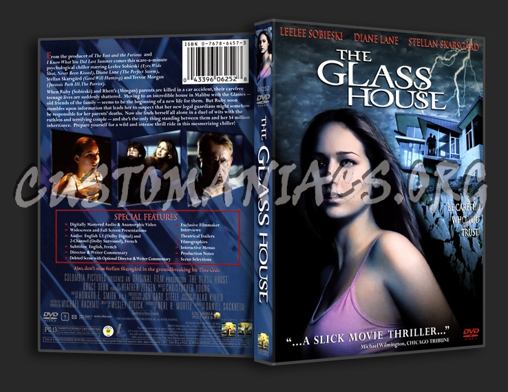 The Glass House dvd cover
