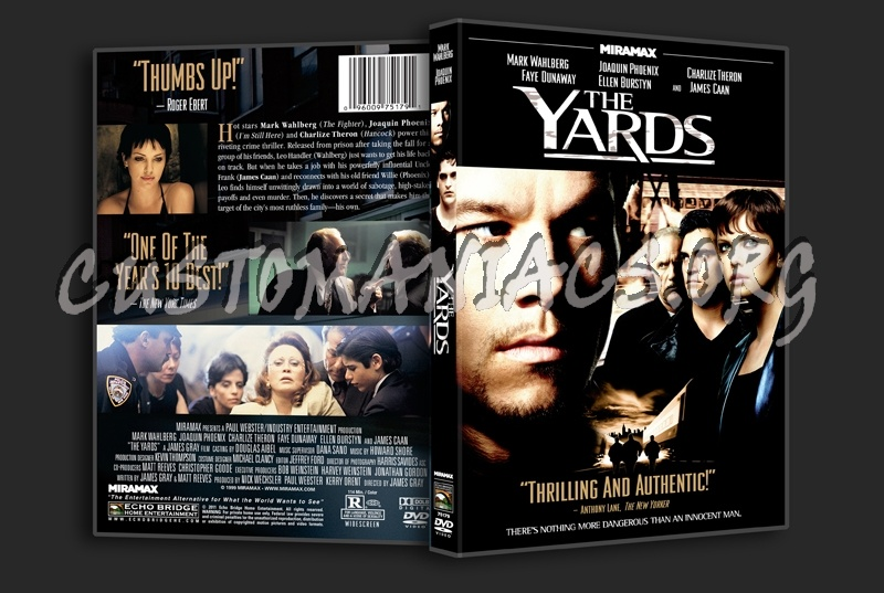 The Yards dvd cover