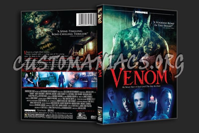 Venom dvd cover