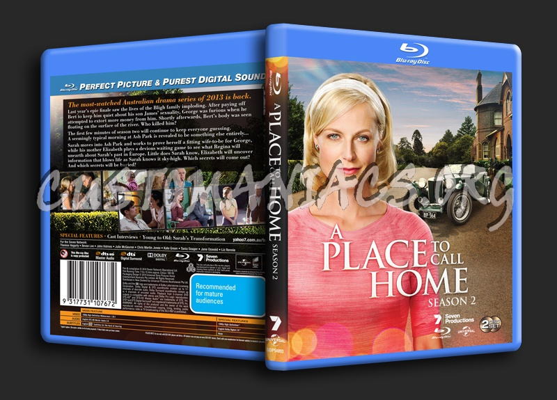 A Place To Call Home Season 2 blu-ray cover
