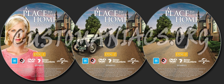 A Place To Call Home Season 2 dvd label