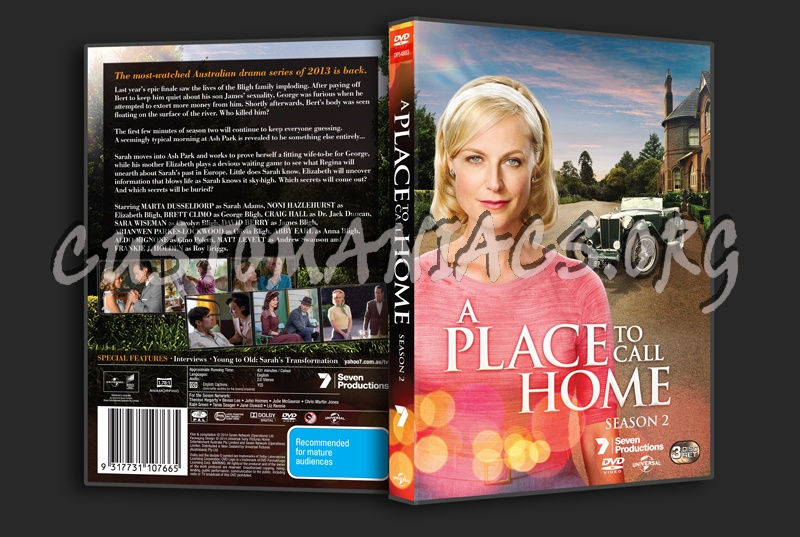 A Place To Call Home Season 2 dvd cover
