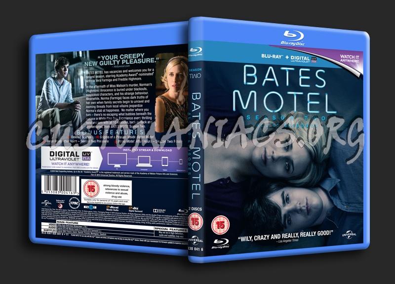 Bates Motel Season 2 blu-ray cover