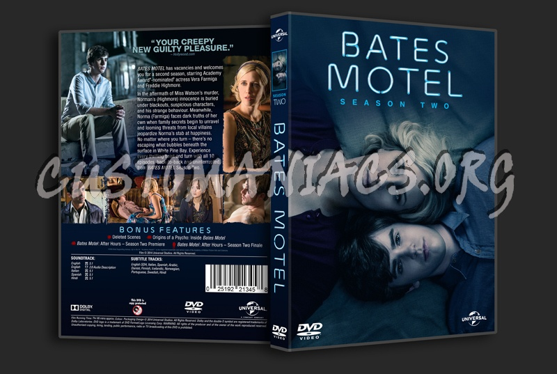 Bates Motel Season 2 dvd cover