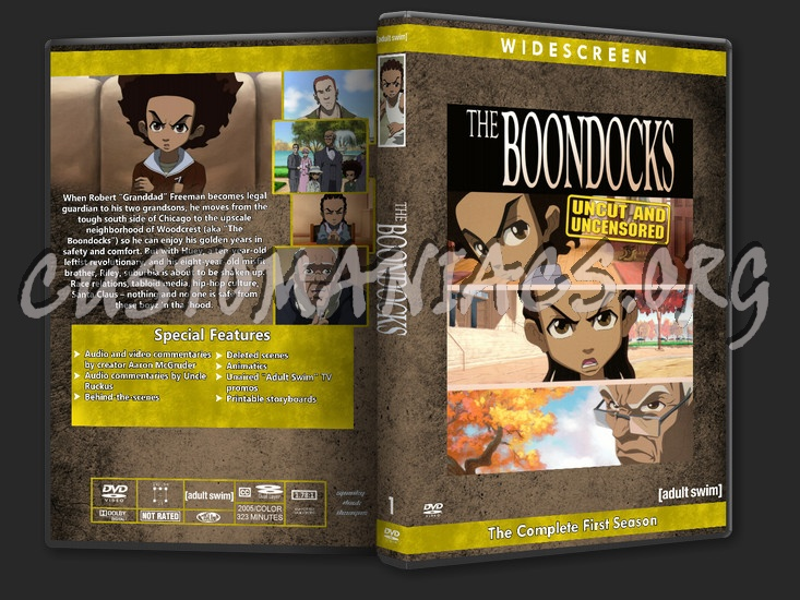 The boondocks season 1 dvd cover dvd covers labels by customaniacs id 215891 free download - Boondocks season download ...