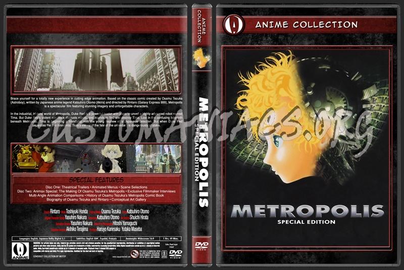 Anime Collection Metropolis Special Edition dvd cover