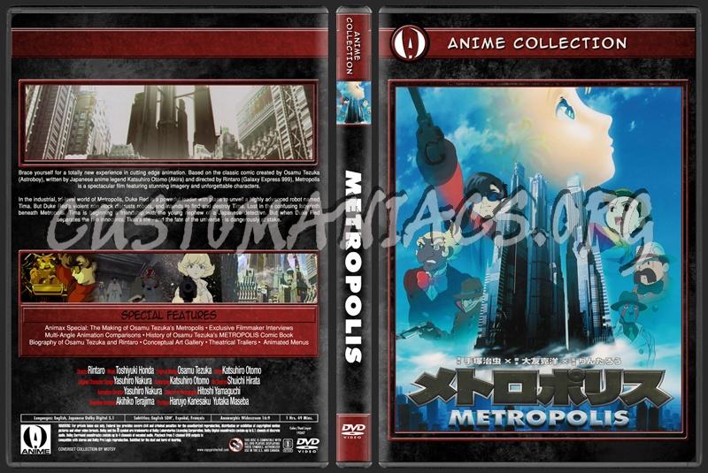 Anime Collection Metropolis dvd cover