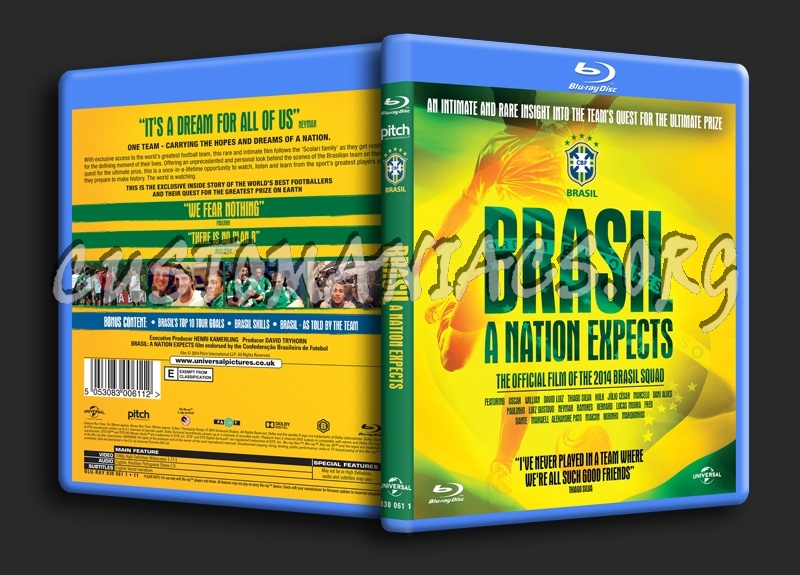 Brasil A Nation Expects blu-ray cover