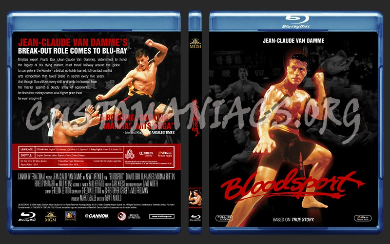 Bloodsport blu-ray cover