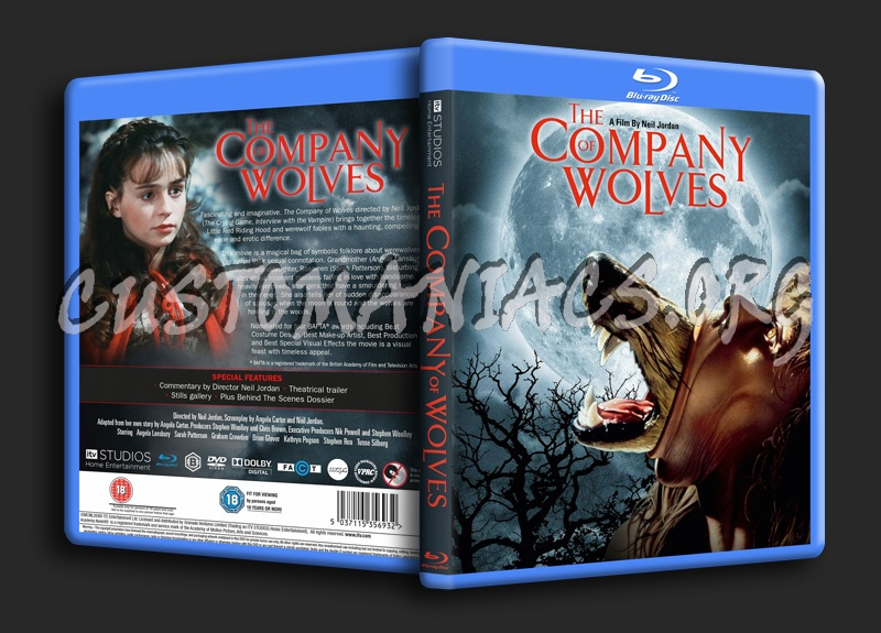 The Company of Wolves blu-ray cover