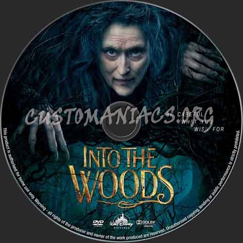 Into The Woods dvd label