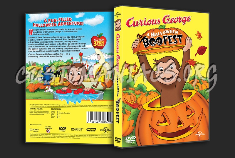 curious george a halloween boofest dvd cover
