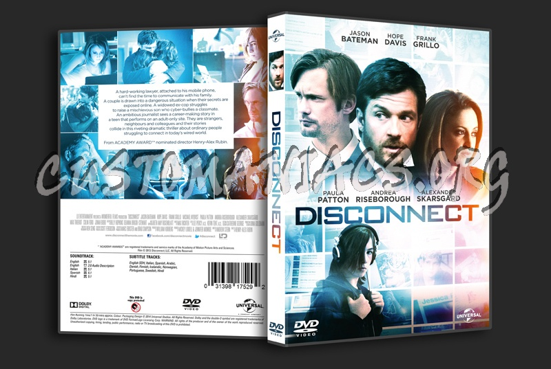 Disconnect dvd cover