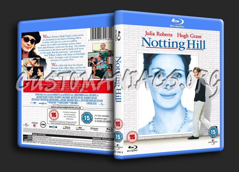 Notting Hill blu-ray cover