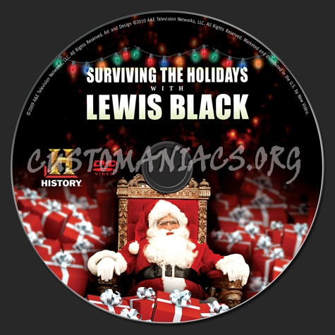 Surviving the Holidays With Lewis Black dvd label