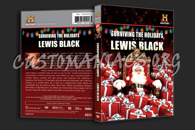 Surviving the Holidays With Lewis Black dvd cover