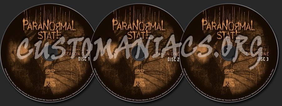 Paranormal State Season 1 dvd label