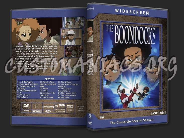 The boondocks season 2 dvd cover dvd covers labels by customaniacs id 216536 free download - Boondocks season download ...