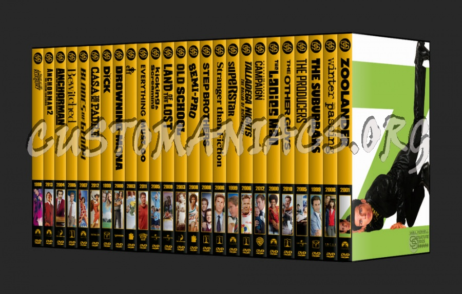 The Signature Series - Will Ferrell dvd cover