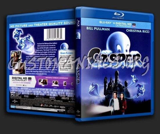 Casper blu-ray cover
