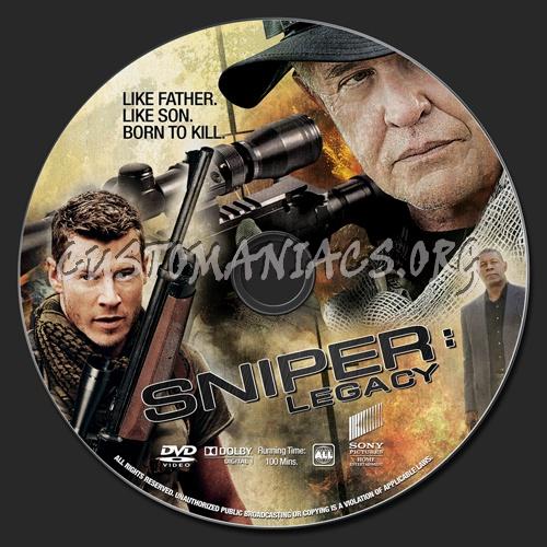 Sniper: Legacy dvd label